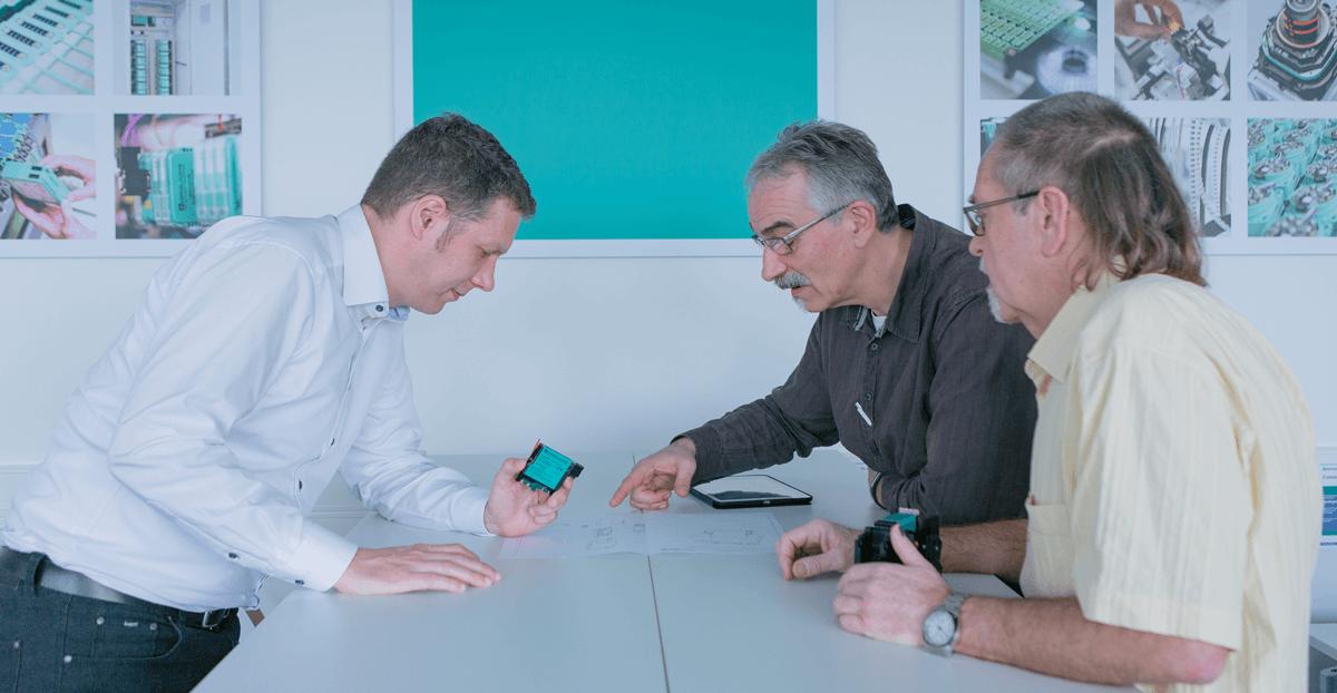 Friedrich Füß, Thomas Lebkücher und Thomas Ofenloch