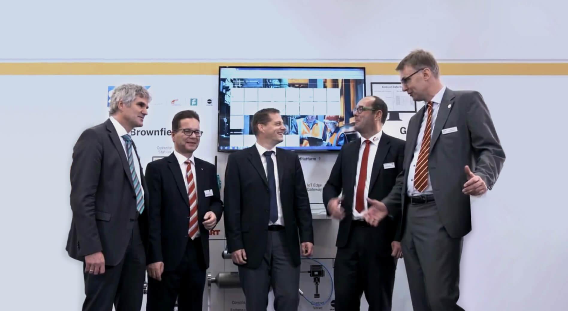 Benedikt Rauscher, Guido König, Michael Bückel, Armin Pühringer, Timothy Kaufmann