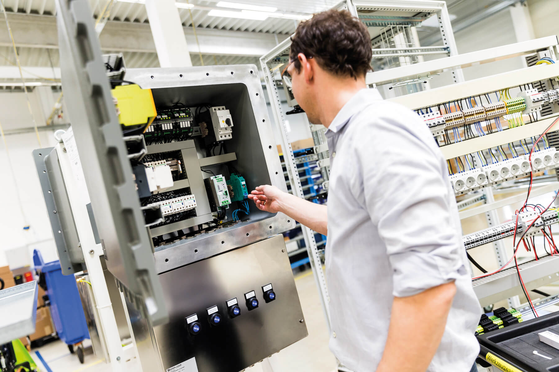 Ex de combinations from the Solution Engineering Center (SEC) in Bühl, Germany