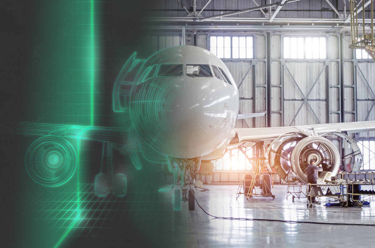 Airplanes have to be safe, so Pepperl+Fuchs scanning technologies help check and build them correctly.