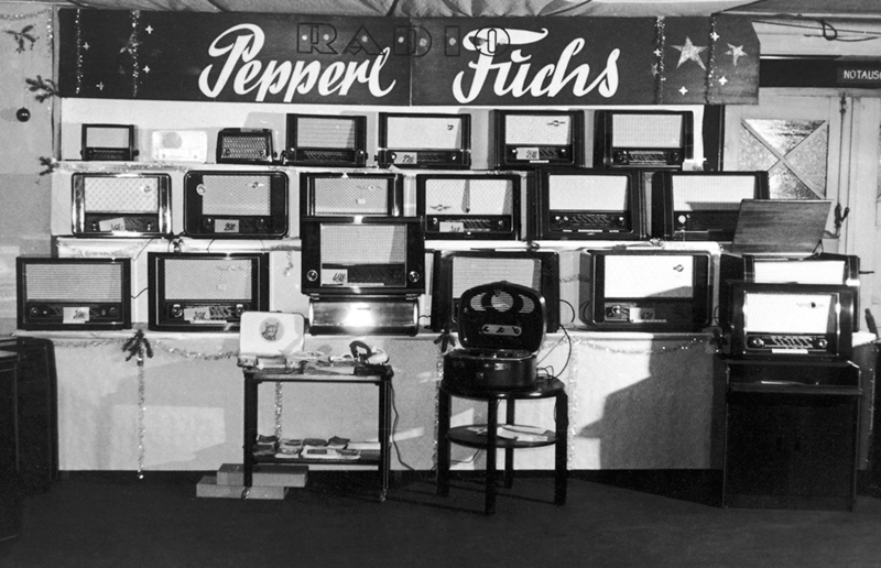 Pepperl+Fuchs radio repair shop in Mannheim-Sandhofen, Germany