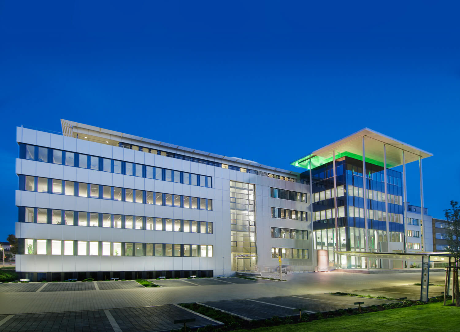 Company headquarter of Pepperl+Fuchs in Mannheim