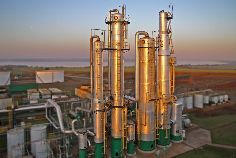 Ethanol-Produktion aus Zuckerrohr