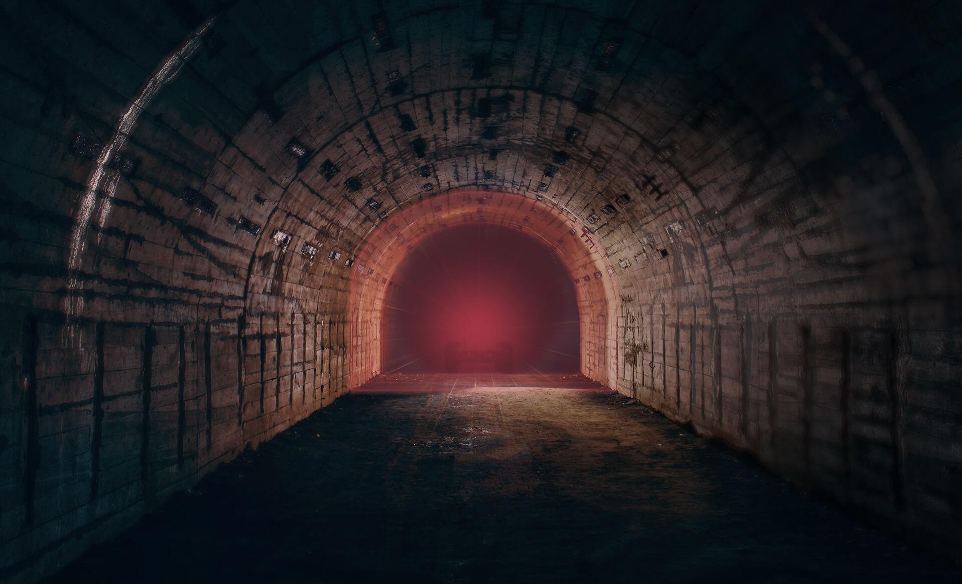 2-D-Laserscanner R2000 für die Erstellung eines realistischen 3-D-Abbilds des Tunnels