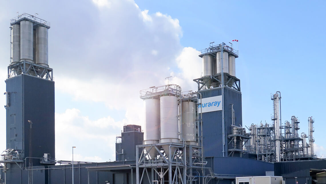 Kuraray plant at Antwerp, Belgium