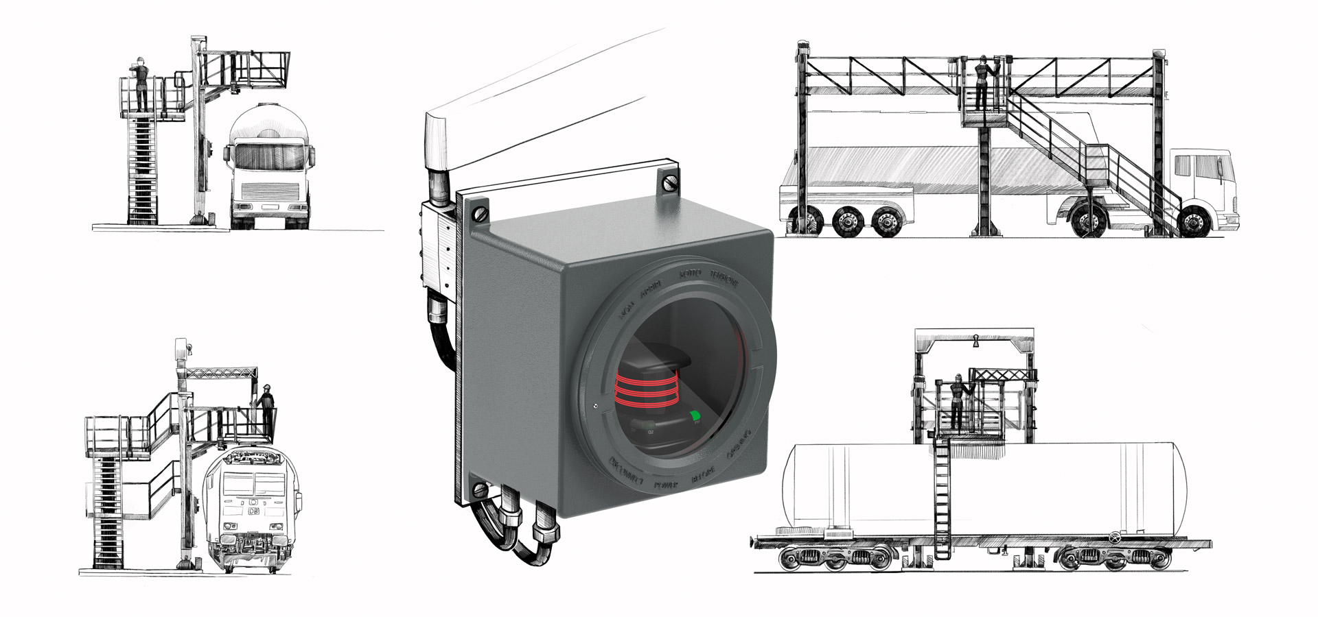 2-D LiDAR sensor for ATEX Zone 1
